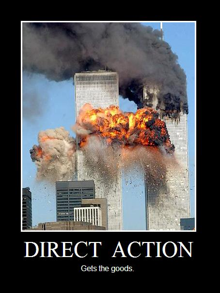 direct action de motivational poster